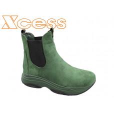 5289-3 Зелен велур